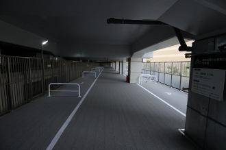 2階の自転車用スペース(定期利用)