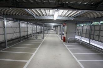 1階の原付バイク用スペース(定期利用)
