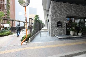 東急武蔵小杉駅側の出入口