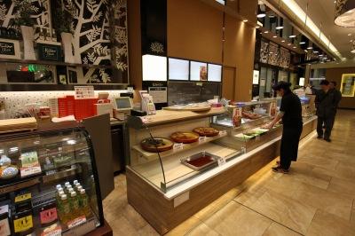 「上海灘」が出店するフードショースライス1階の食品催事場