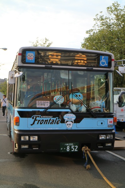 東急バスとの綱引き