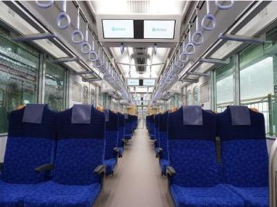 西武鉄道新型通勤車両「40000系」のクロスシート