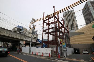 東急武蔵小杉駅南口のコインパーキング跡地