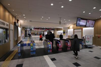 リニューアルが完了した東急武蔵小杉駅コンコース