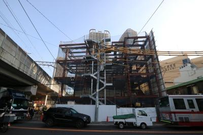 「すこやか小杉保育園」のビル建設工事