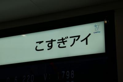 「こすぎアイ」の表示