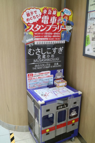武蔵小杉駅のラリーポイント