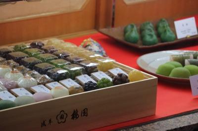 和菓子店で販売する和菓子やあんみつ