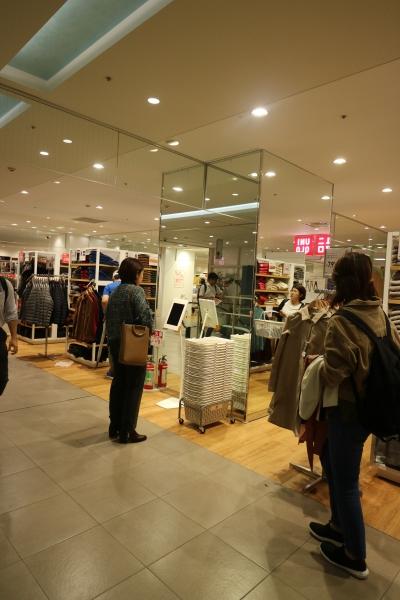 拡張オープンしたユニクロ武蔵小杉東急スクエア店