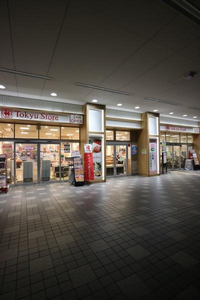 深夜営業中の「東急ストア新丸子店」