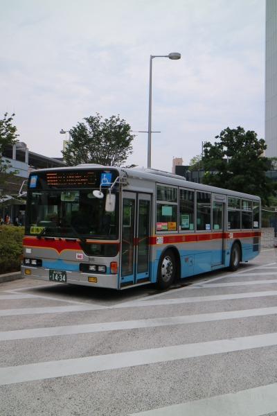 東急バス20周年記念塗装車両(一般路線バス先代カラー)