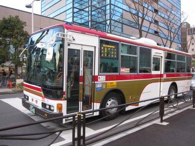 20周年記念塗装車両「観光バス第2代カラー」
