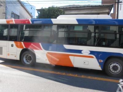 20周年記念塗装車両「観光バス現行カラー」