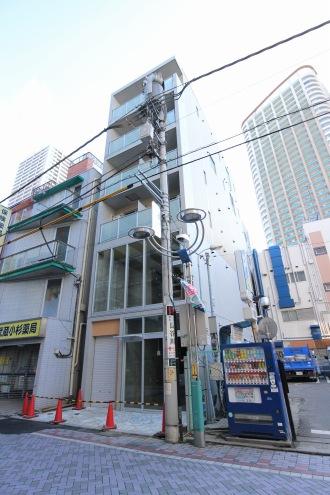 「トモズ」調剤薬局出店予定地(旧増田屋ビル)