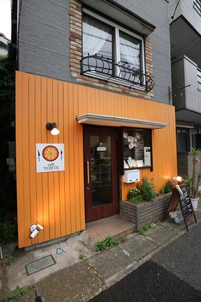 南武沿線道路沿いの「Cafe Torte(カフェトルテ)」