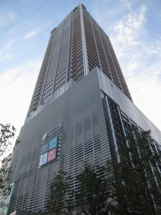竣工したエクラスタワー武蔵小杉