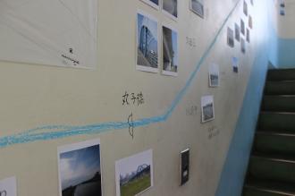 多摩川と沿岸の風景