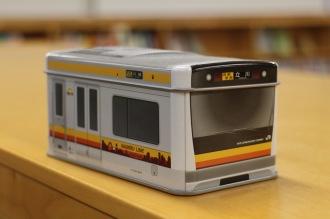 南武線新型車両「E233系」の缶