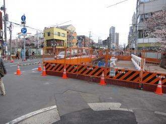 綱島街道の櫓橋