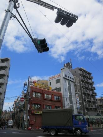 交差点の信号機