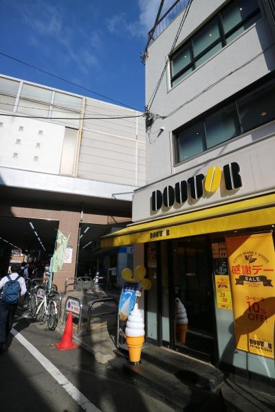 競合する新丸子東口のドトールコーヒー