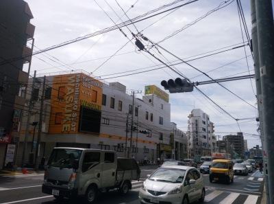 綱島街道の信号停電