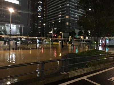 武蔵 小杉 水没