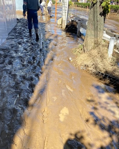 下沼部地区の汚泥