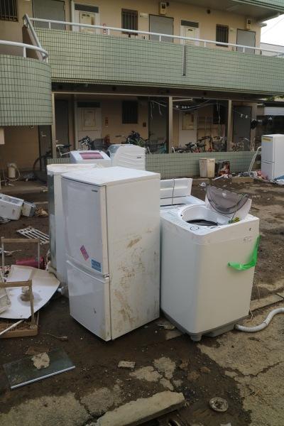 冷蔵庫や洗濯機などの家電