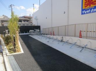 「もとまちUnion日吉店」の駐輪場