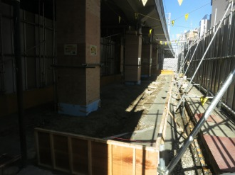「NATURA MARKET」の建設工事