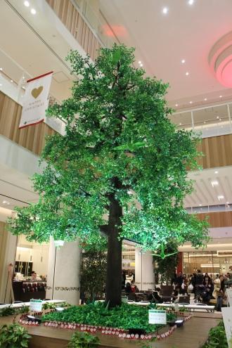 グランツリー武蔵小杉のシンボルツリー