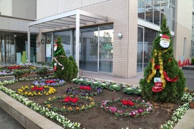 中原区役所のクリスマスツリー