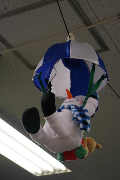 川崎フロンターレオフィシャルグッズショップの雪だるま