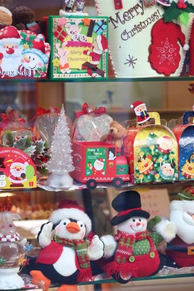 「TOCCO」のクリスマス飾り
