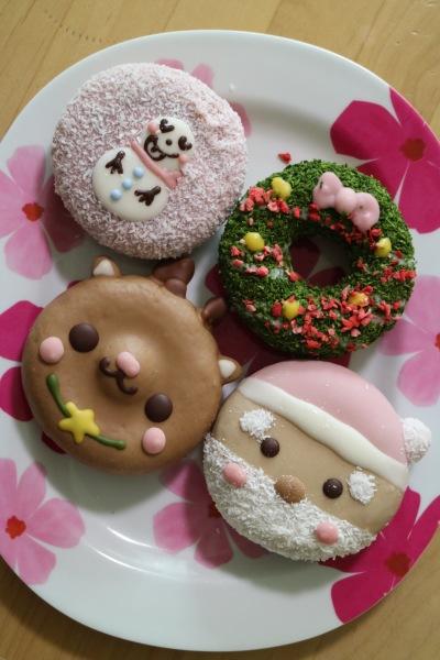 「イクミママのどうぶつドーナツ」のクリスマスドーナツ