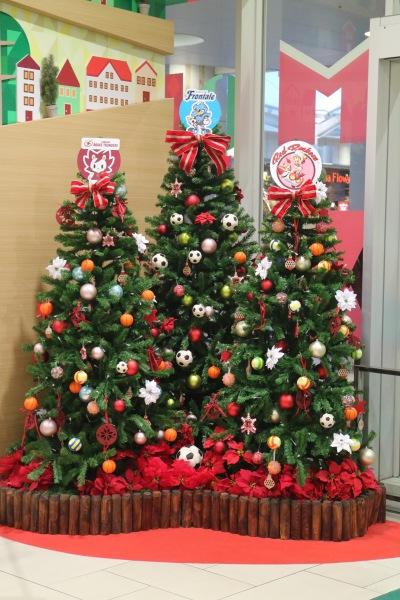 武蔵小杉東急スクエアのクリスマスツリー