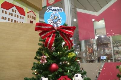 川崎フロンターレのクリスマスツリー