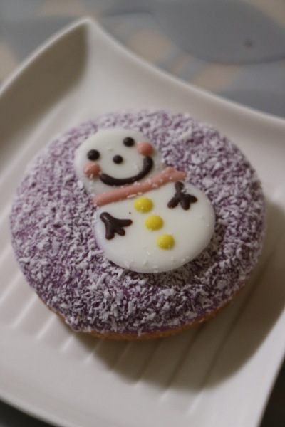 イクミママのどうぶつドーナツのクリスマスドーナツ