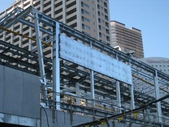 横須賀線武蔵小杉駅の看板?