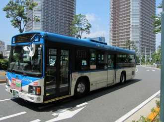 新駅ロータリー発着の市営バス「西加瀬循環線」