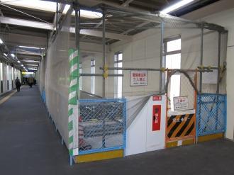 横須賀線武蔵小杉駅への連絡通路
