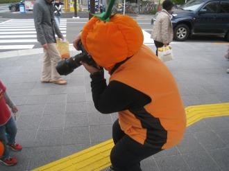 昨年のハロウィン(川崎市まちづくり局 植木さん)