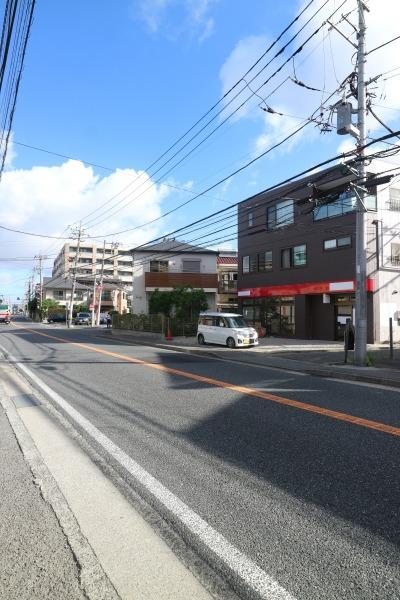移転先の府中街道沿いの建物