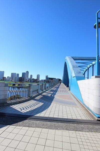 丸子橋に到着