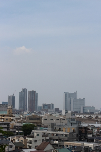 2013年にご紹介した武蔵小杉の高層ビル群
